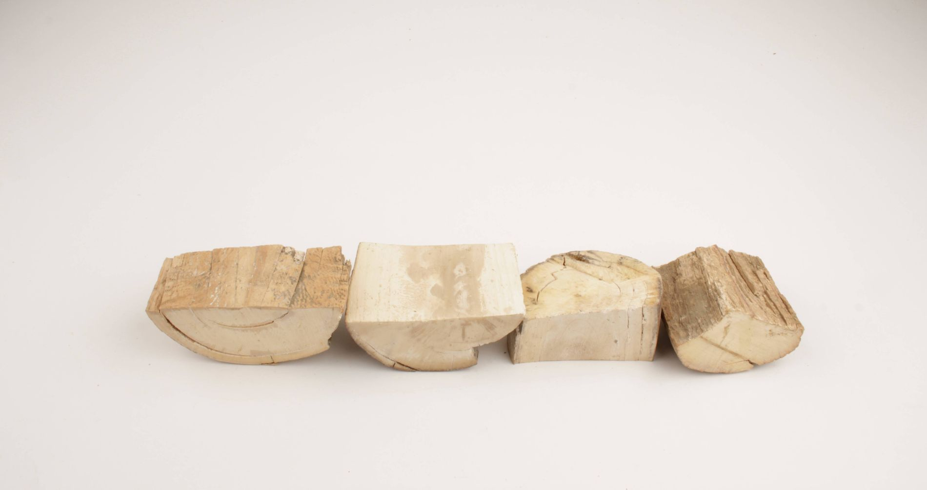 Raw mammoth ivory pieces