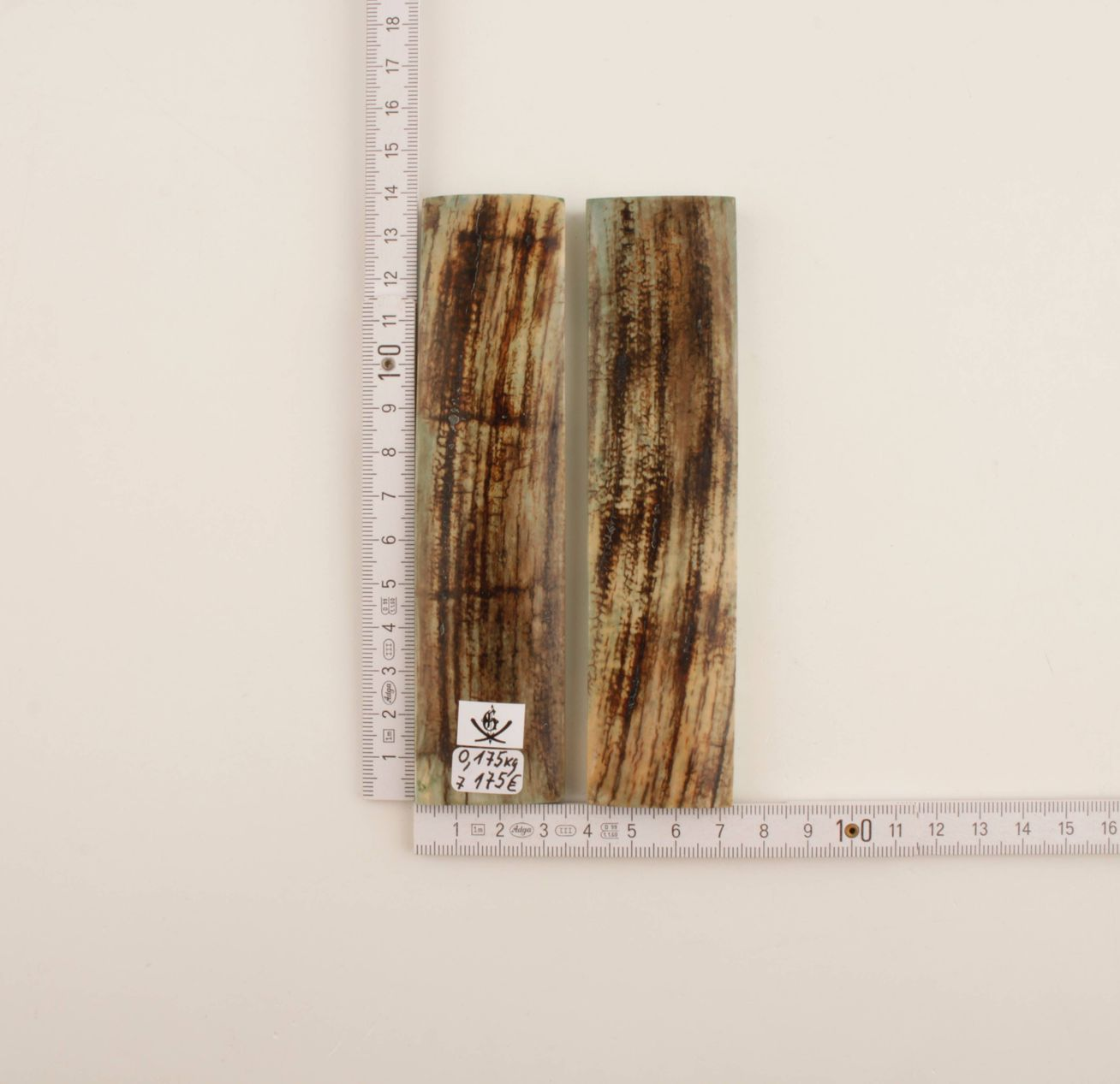 Stabilized mammoth bark scales