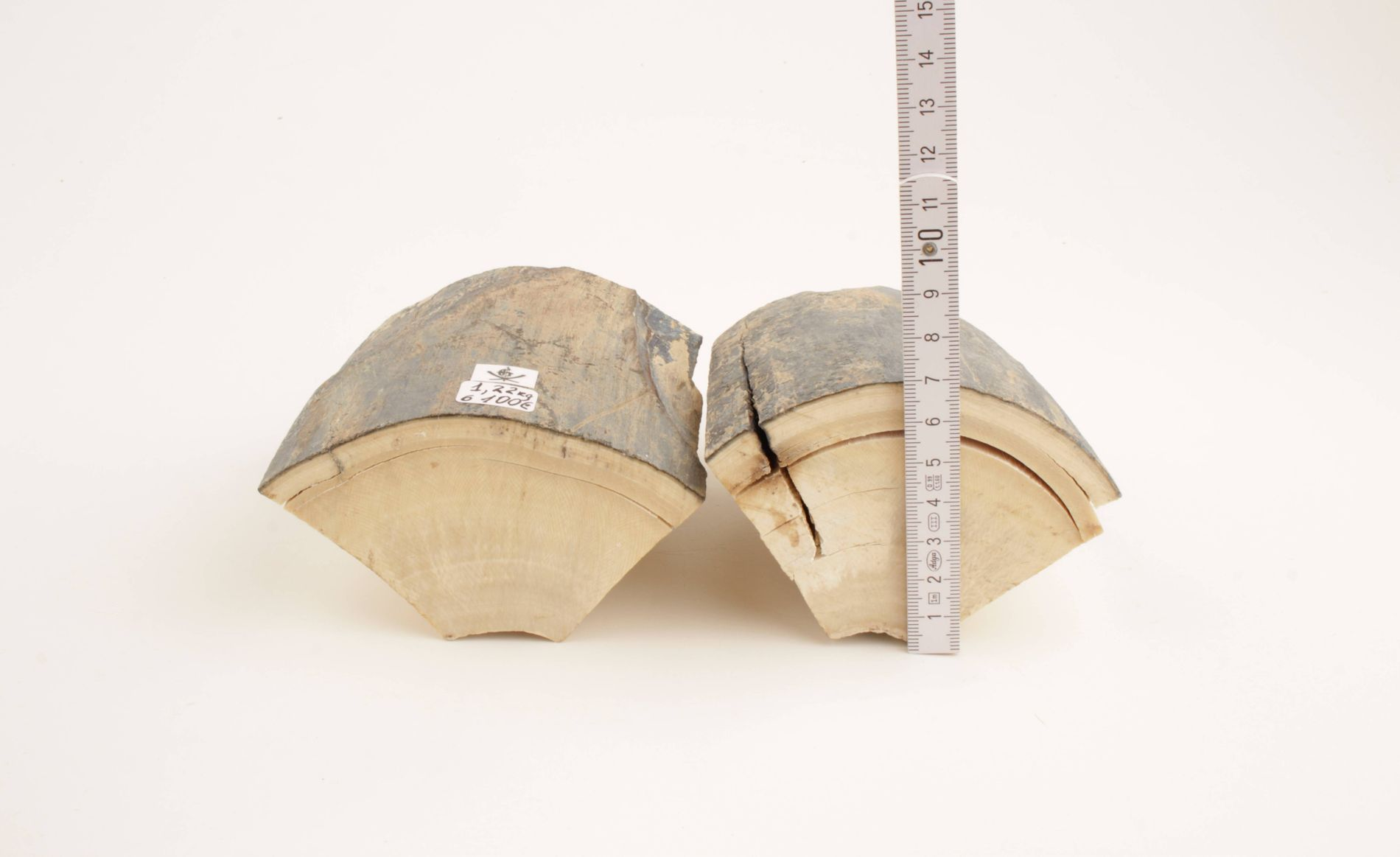 Thick mammoth ivory offcuts