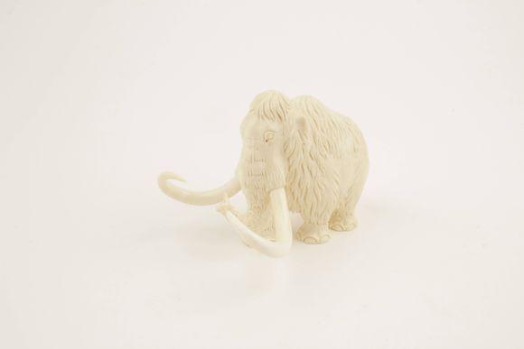 Woolly mammoth figurine