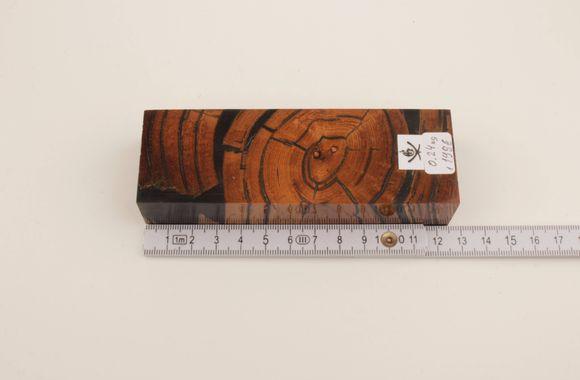 Stabilized mammoth ivory block
