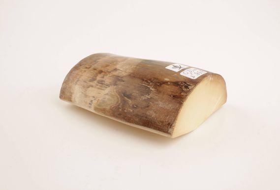 Beige-white mammoth ivory piece